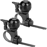 Ertisa Fietsbel, 2-pack Fietsbel, Luid Helder Helder Fietshoorn Ring, Verstelbare Lengte Fietsbel voor Racefiets…