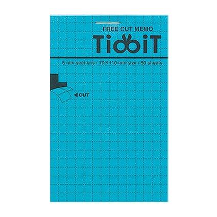 amazon com kokuyo tidbit free cut memo pad a7 4 1 x 2 9 5