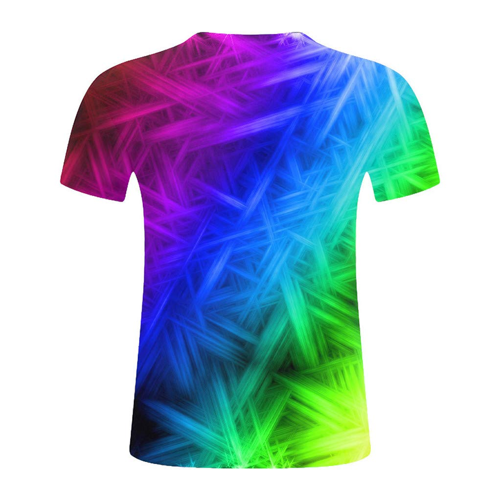 2019 Newest Summer Style Fashion Print Short Sleeved Tees Men Multicolor T Shirt