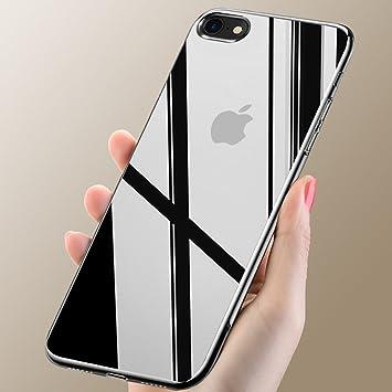 carcasa iphone 8 silicona transparente