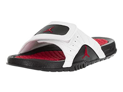 15428f13bb3404 Nike Jordan Kids Jordan Hydro XII Retro Bg White Gym Red Black Sandal 6