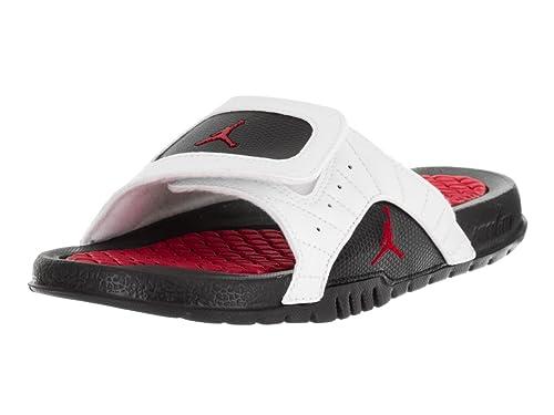 142c6cde2117 Nike Jordan Kids Jordan Hydro XII Retro Bg White Gym Red Black Sandal 7  Kids US  Amazon.ca  Shoes   Handbags