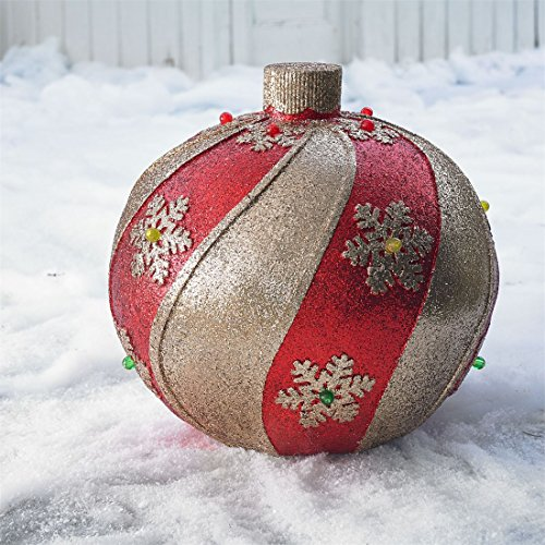 Outdoor Lighted Lawn Ornaments - 8