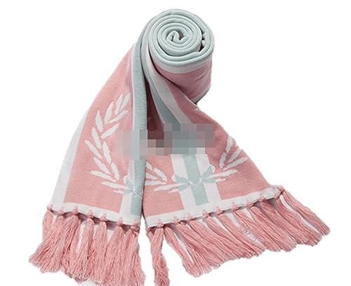 OGTOP Inverno Donna Classico Sciarpa Scialle Tenere Caldo Spessore Sezione Lunga Moda Sciarpe,Pink-OneSize