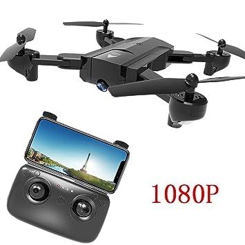 Drone Plegable con HD Camara, GPS WiFi Quadcopter, FPV 1080p ...