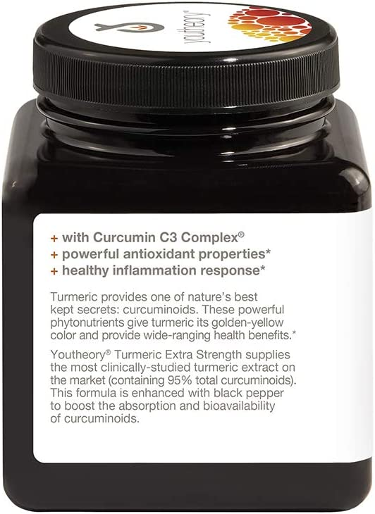 HealthForce SuperFoods Antioxidant Extreme – 360 Vegan Capsules – All Natural Turmeric Root Complex, Anti Inflammatory – Kosher, Gluten Free – 180 Servings