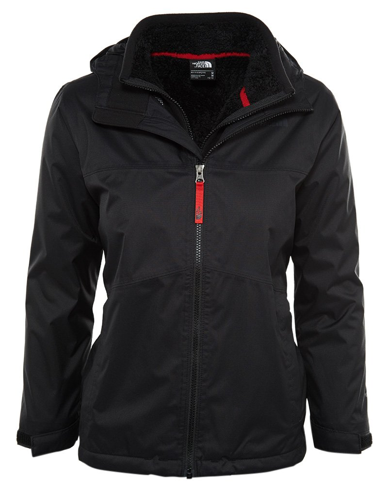 The North Face Chimborazo TriClimate Jacket TNF Black Boys S by The North Face