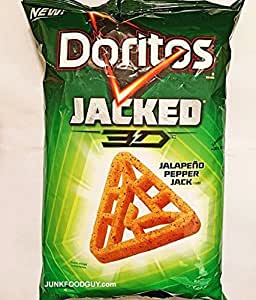 Amazon.com: Doritos Jacked 3d Jalapeno Pepper Jack - Pack ... 3d Doritos