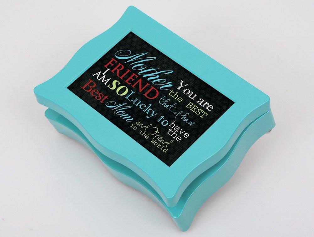 大人女性の Cottage Garden Mother Aqua Cottage Digital Garden Music Box/ Jewellery Mother Box Plays Wind Beneath My Wings B00BRX2C3C, くすりの勉強堂 アネックス:750b4b92 --- arcego.dominiotemporario.com