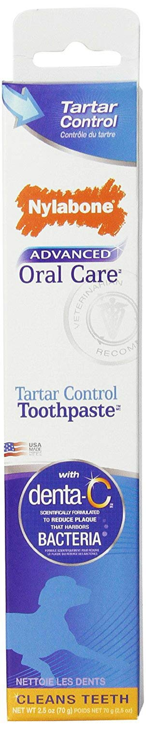 Nylabone Tartar Control Toothpaste for Dogs, Advanced Oral Care, 24 Pack