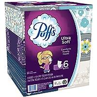 Puffs Ultra Soft Facial Tissues 6 Pack + $10 Gift Card