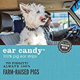 I and love and you Ear Candy Pig Ear Strips - Grain Free Dog Chews, 100% Pig Ear, 16-Ounce