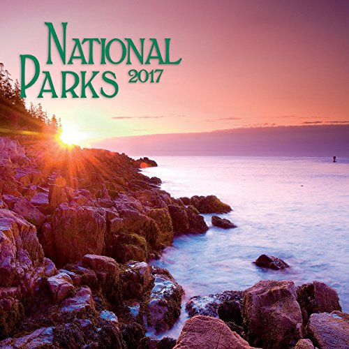 Turner Photo 2017 National Parks Photo Mini Wall Calendar, 7 x 14 inches Opened (17998950011)