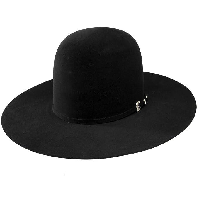 Resistol Mens 20X Black Gold 4 1 4 Brim Open Crown Felt Cowboy Hat at  Amazon Men s Clothing store  68e68218ed2