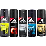 Adidas Deodorants (Pack Of 5)