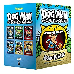 Amazon Com Dog Man The Supa Epic Collection From The