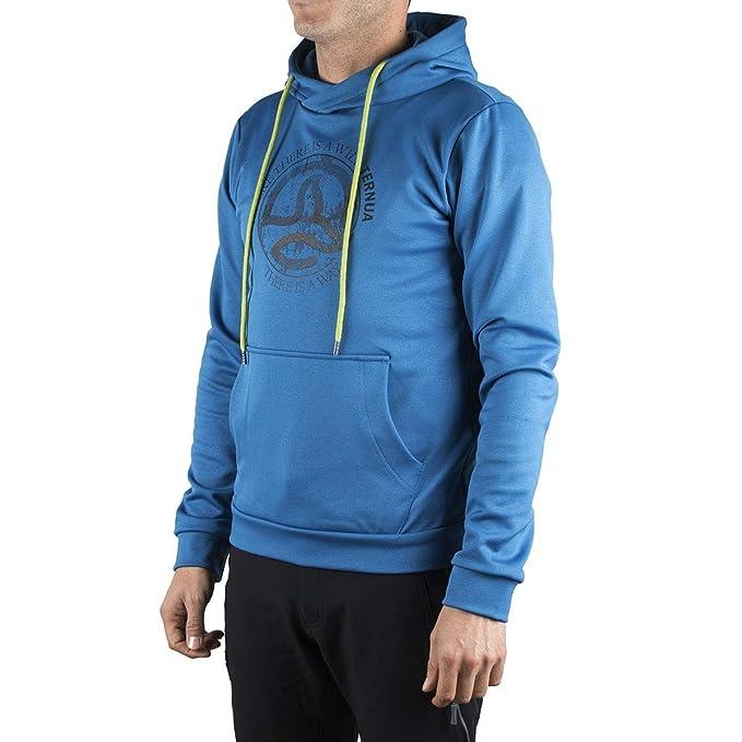 Ternua ® Sudadera Hylor Hoody M F Azul Hombre - M, Hombre: Amazon.es: Ropa y accesorios