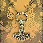 Apopo Punk Necklace Gear Chain Sweater Pendant 7