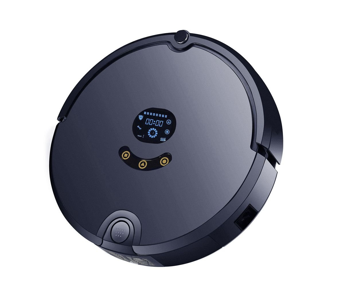 SunShine Co IRobot, Vacuum Cleaner smartphone app remote control, 2d Map with App, Ultrasonic de Shebaa, floor Mopping robot with Water: Amazon.es: Hogar