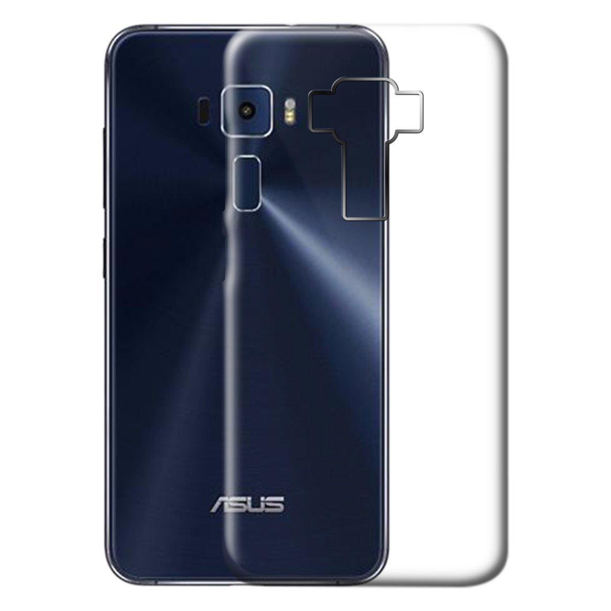 new concept 7cad3 bf775 WTF Transparent Soft Back Case Cover for Asus Zenfone 3 ZE520KL (5.2 Inch)