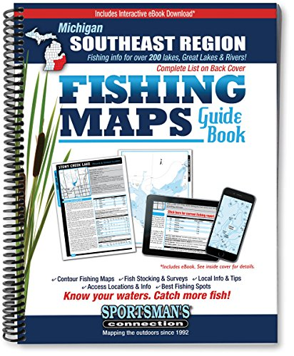 Southeast Michigan Fishing Map Guide