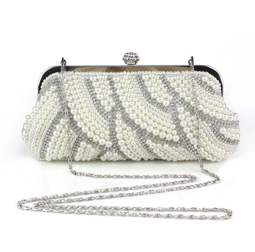 SHISHANG Frau Abendkleid 2018 New Fashion Perlen Brauttasche Kupplung Brautjungfer Tasche Kosmetiktasche ZYXCC