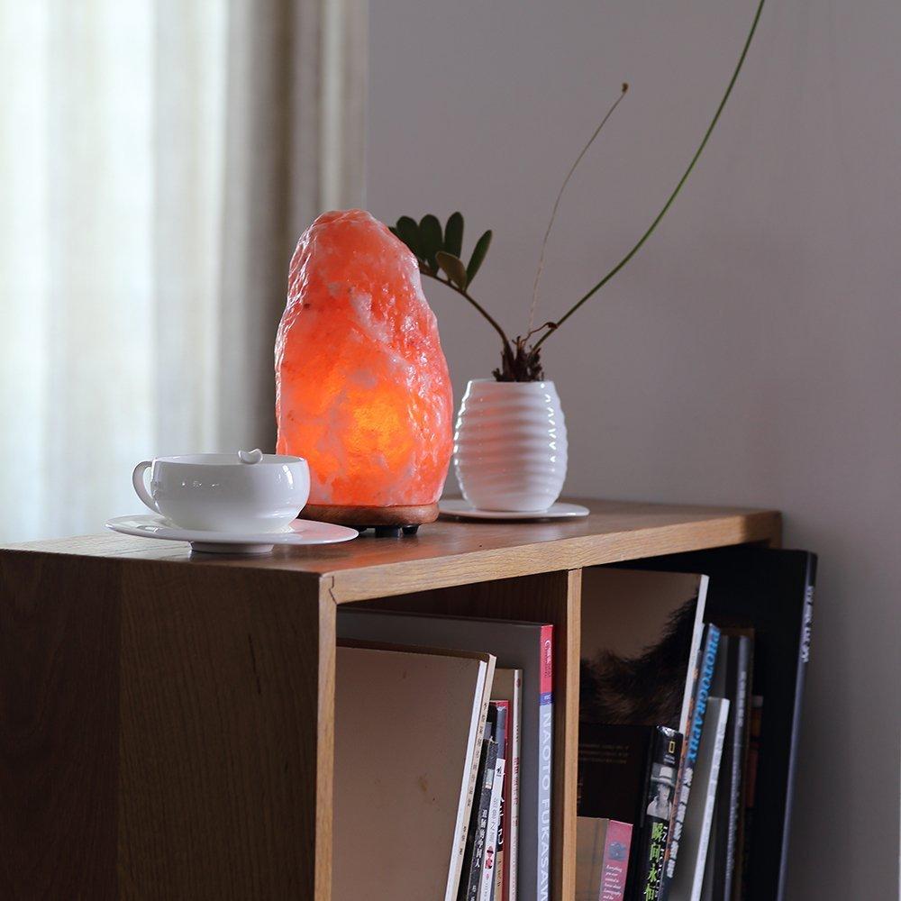 Galleon wbm 1004 himalayan glow himalayan salt lamp for Certified himalayan salt lamp