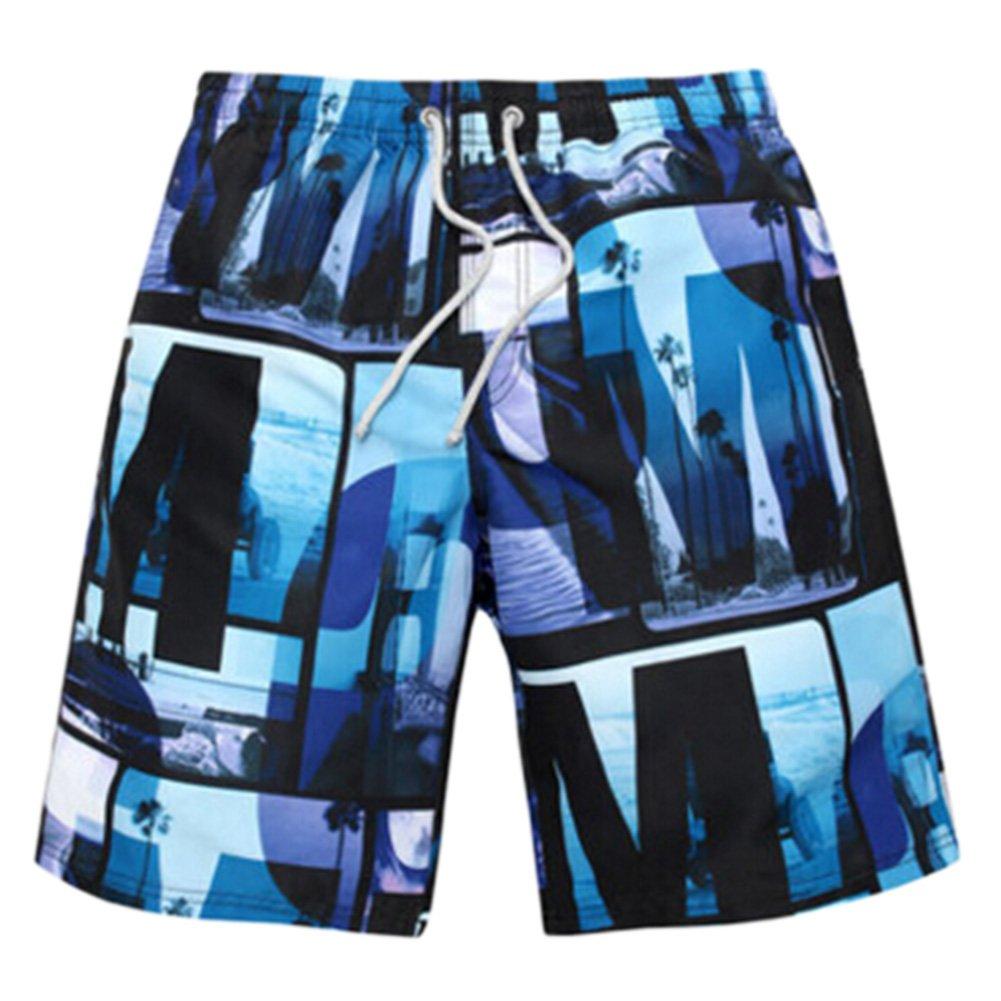 Men's Casual Short Beach Shorts Quick-dry Sport Swim Trunk Swimwear Jams #08 Kylin Express