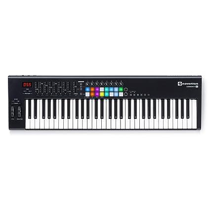 Amazon.com: Novation Launchkey 61 MKII - USB MIDI Controller Keyboard 61 Keys: Musical Instruments