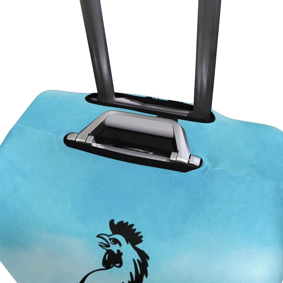 LEISISI Weather Vane Rooster Luggage Cover Elastic Protector Fits XL 29-32 in Suitcase