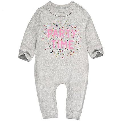 Pijama para Bebés Algodón Peleles Niñas Niños Mameluco Monos Manga Larga