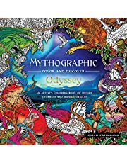 Mythographic Color and Discover: Odyssey: An Artist's Coloring Book of Mythic Journeys and Hidden Objects