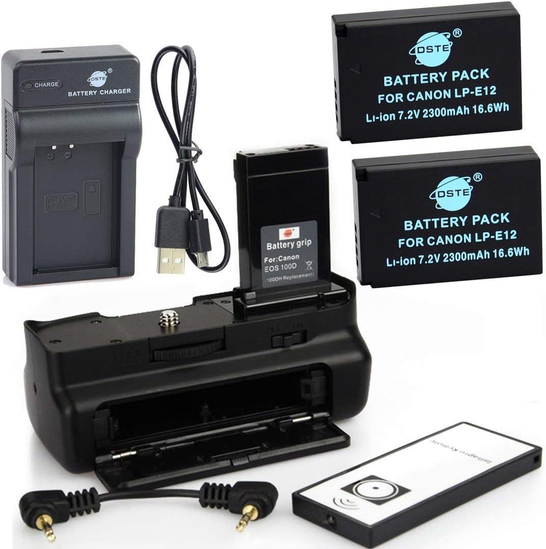 Dste Ir Remote 100d Battery Grip 2x Lp E12 Battery Elektronik