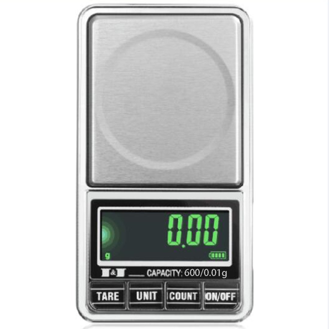 Electronic Digital LCD Pocket Scale USB Interface Jewelry Scales Multi-Purpose Kitchen Scale Luwu-Store TRTA11A