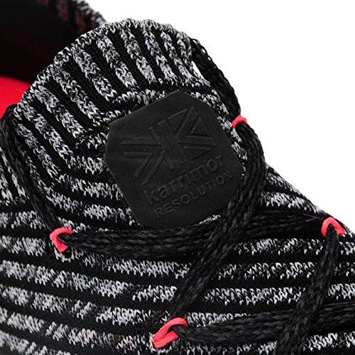 Route pour Shoes à de Noir Run Sneakers course Chaussures femme corail Baskets Karrimor Official pied Résolution ztx1aa