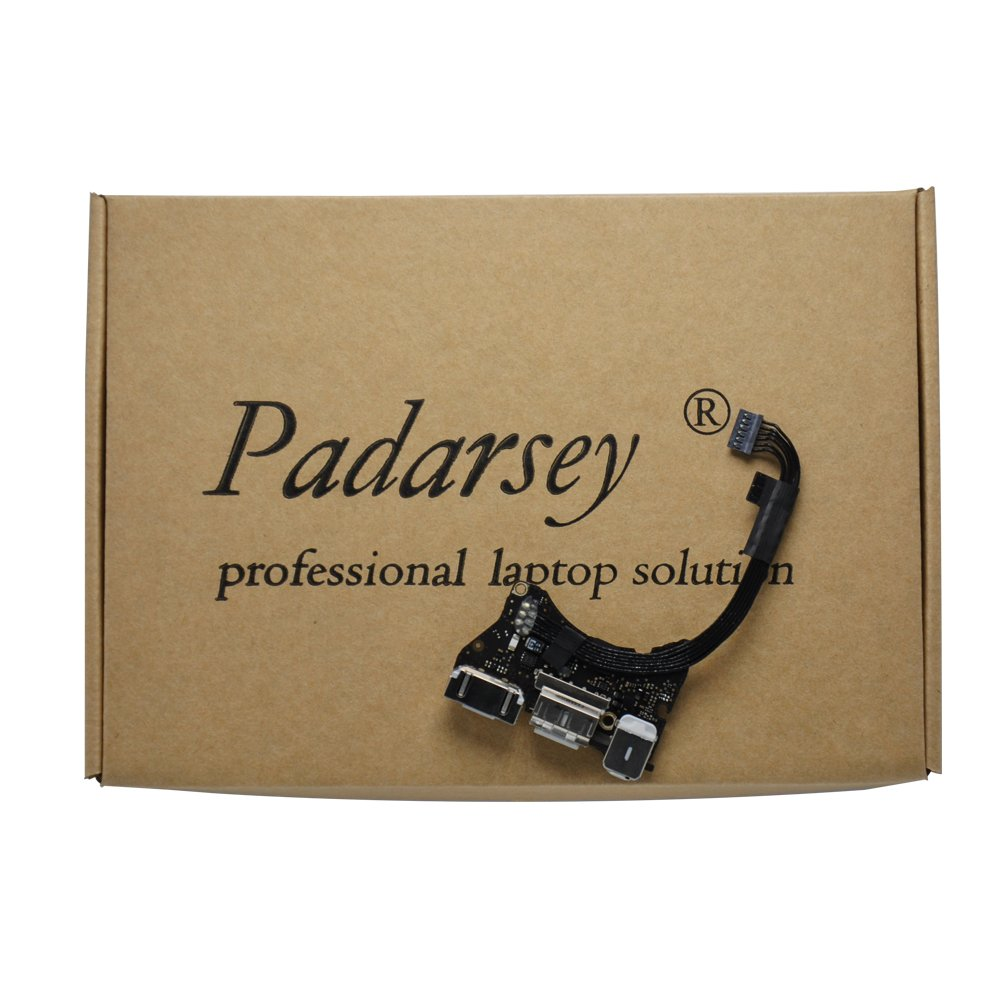 Padarsey (923-0430) I/O Board w/USB, Audio, DC-In 2 Compatible for MacBook Air 11'' A1465 (Mid 2013, Early 2014, Early 2015)