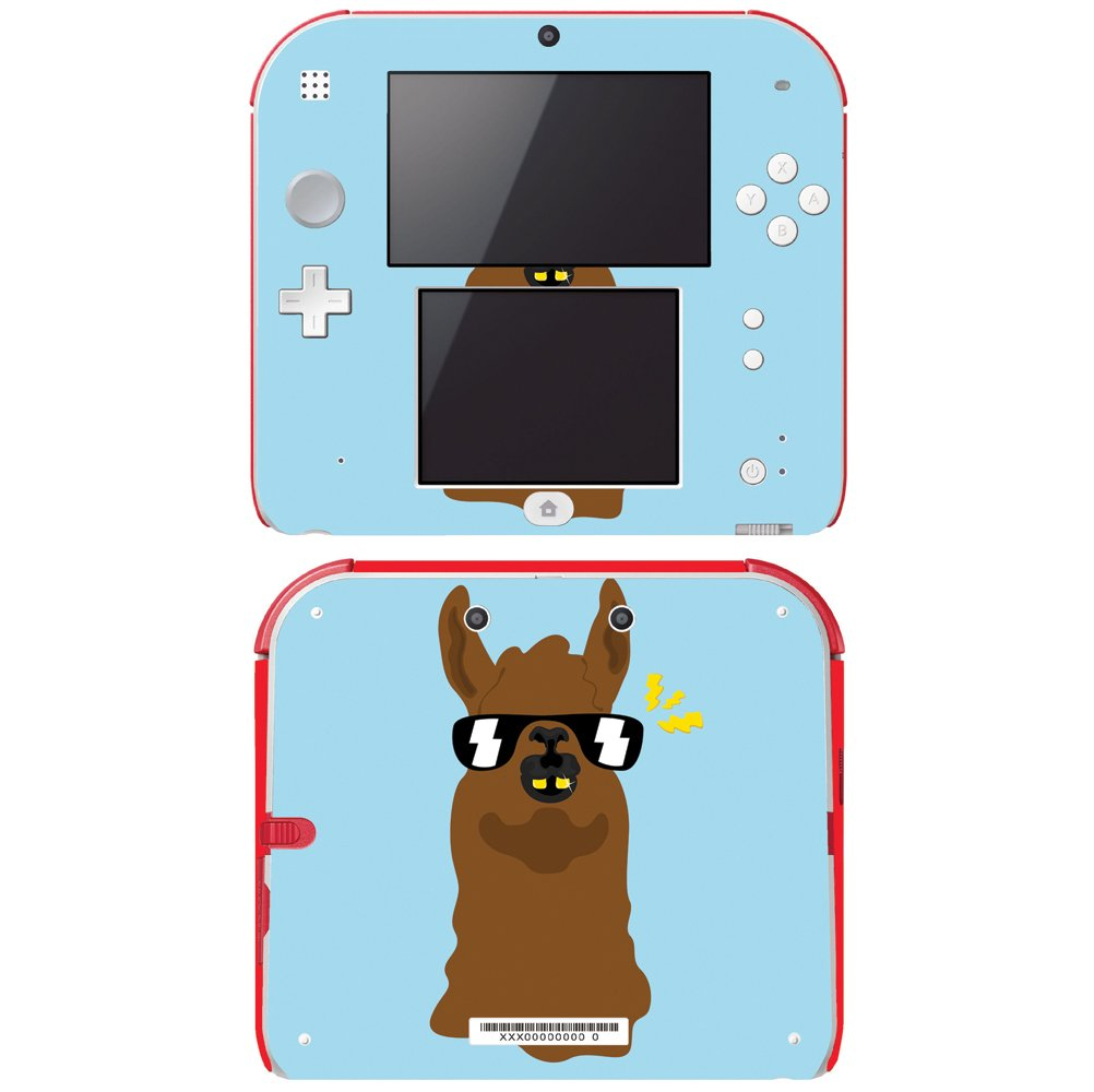 Decal Skin Vinyl Game Cover for Nintendo 2DS - Llama
