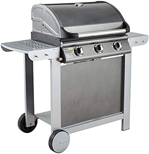 Cook'in garden Barbecue gaz mixte Grill Plancha FIESTA 3