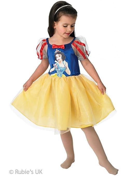 67cc086a0ffa83 Rubie s-déguisement officiel - Disney- Déguisement Costume Ballerine Blanche -Neige - Taille 3