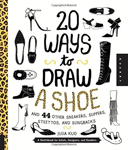 20 Ways to Draw A Shoe and 44 - Sketches Skate Shoes