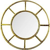 Vitale Lux Gold Dekoratif Duvar Aynası