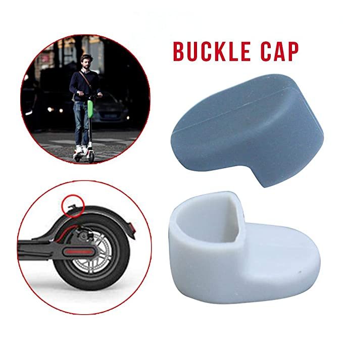 Practical Rear Fender Fender, kingpo Applicable To Millet Electric Car M365 Rear Fender Hook Hook Silicone Sleeve Buckle Cap