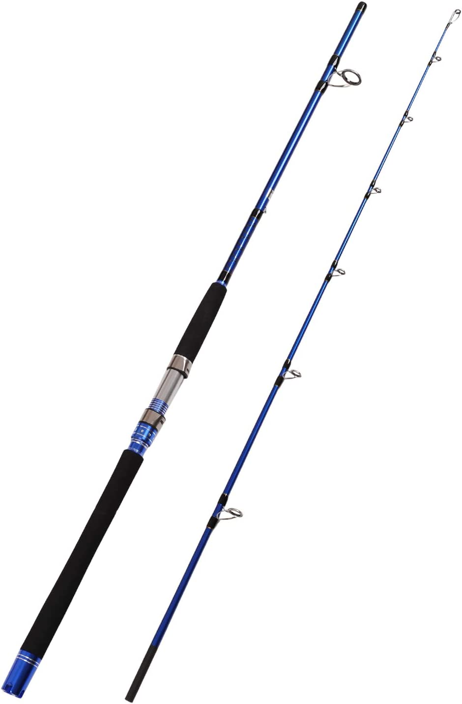 Fiblink 2-Piece Spinning Fishing Rod