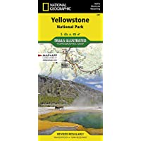 Image for Yellowstone National Park (National Geographic Trails Illustrated Map, 201)
