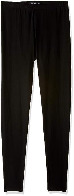 De Moza Ladies Ankle Length Leggings Solid Cotton Lycra Women's Leggings at amazon