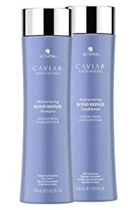 Alterna Caviar Anti-Aging Restructuring Bond Repair Shampoo and Conditioner Set, 8.5-Ounce (2-Pack)
