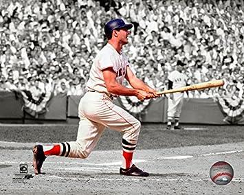Carl Yastrzemski Boston Red Sox 1967 World Series Action Photo Size 11quot