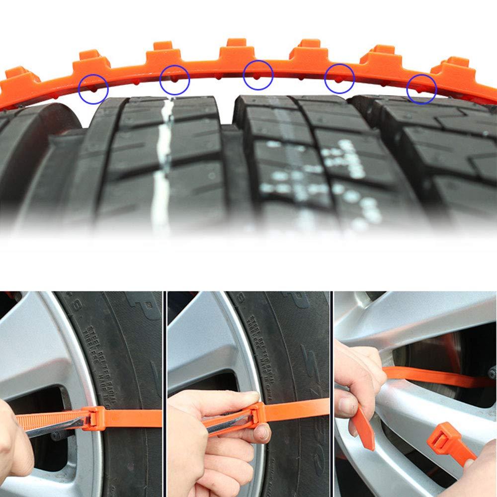 40 20//40PCS SUTON 20PCS//40 PCS Universal Car Truck Anti-Skid Tire Chains Reusable Emergency Snow Mud Wheel Tyre Tire Chains Belting Straps Ties Cable Nylon