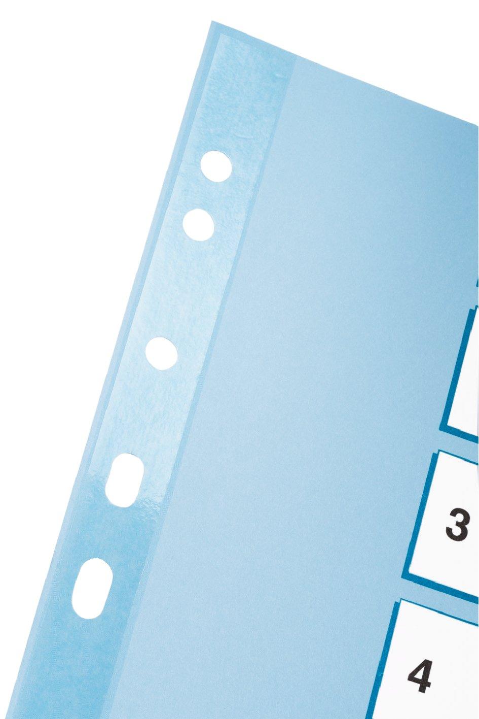 Esselte Kartonregister 1-5, A4, Karton, 5 Blatt Mehrfarbig