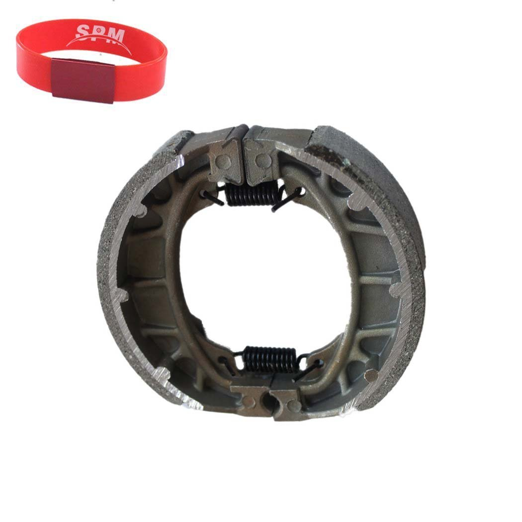 WATER GROOVED REAR BRAKE SHOES /& SPRINGS for 1978-1985 Honda ATC 70 Three-wheel